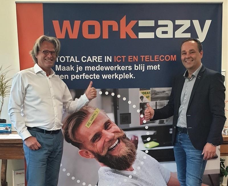 De kracht van oranje: samenwerking Work-EAZY en EvolveIP