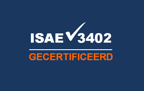 Work-EAZY is ISAE3402 gecertificeerd